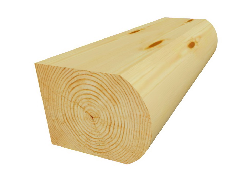 Блок-хаус брус 142х142х6000 мм сосна