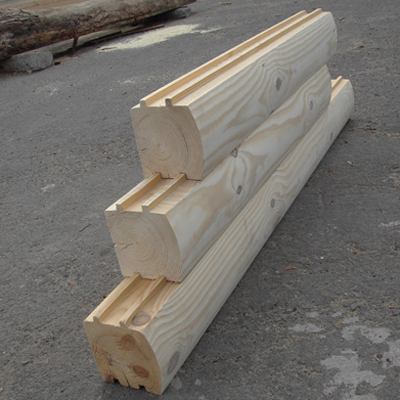 Блок-хаус брус 192х142х6000 мм сосна